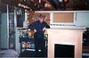 1998 Ellis with mantle in Tewksbury workshop