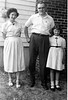 1954 Sophie Ellis and Carol in Billerica