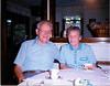 1992 Ellis and Sophie in Chelmsford kitchen