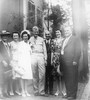 1945 July 28 Sophi and Ellis wedding party