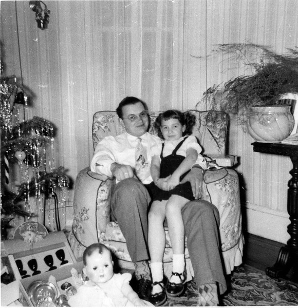1951 Ellis and Carol, Christmas