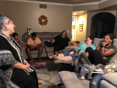 Sharing stories about Grandma/Great Grandma.