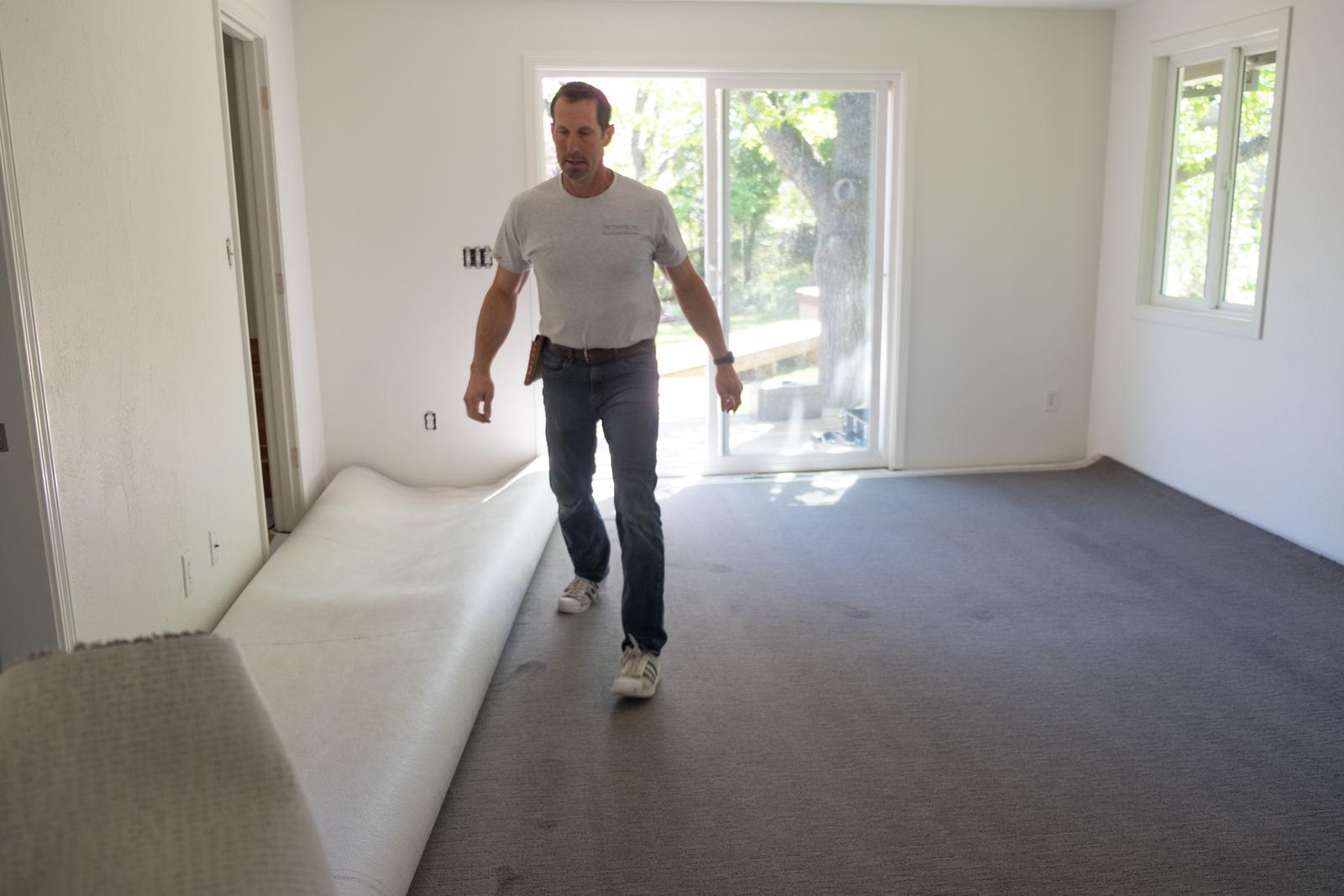 Ted, the carpet installer