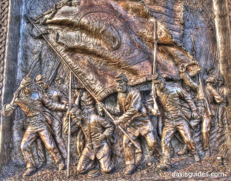 Irish Brigade Memorial at the Sunken Road, Antietam