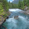 Rapids on Upper MacDonald Creek, Glacier National Park, 2013