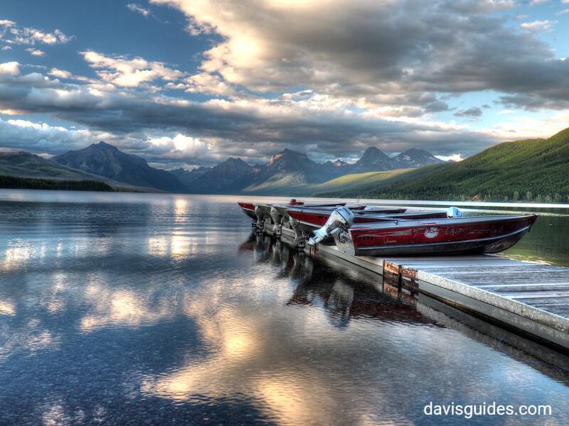 Lake MacDonald from Apgar, 2016