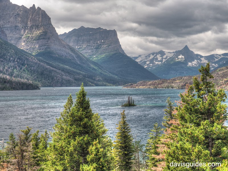 St. Marys Lake, Glacier National Park, 2016