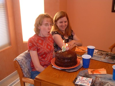 Renee & Annette B-Day 2005