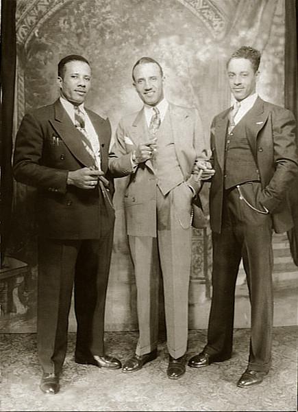 Uncle Lou, John & Al restored