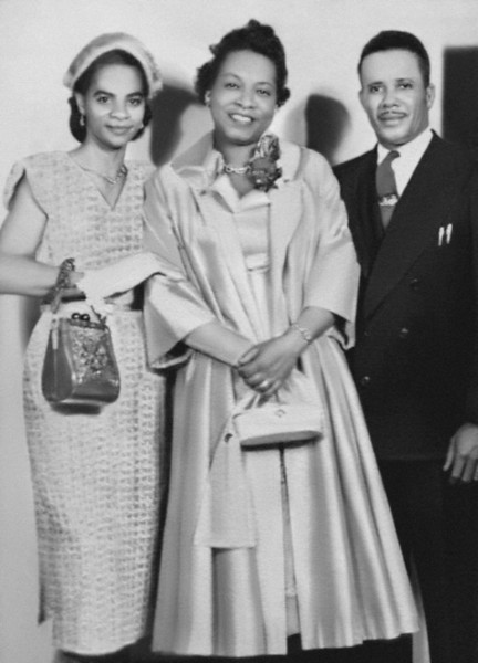 Mary-Alice, Aunt Louise, Uncle Lou