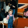 Graduation party on our floor.  You always participated.  Overalls were your most common form of dress in those days.