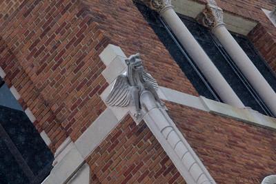 One of the cool gargoyles.