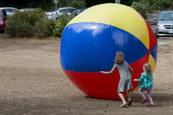 Giant Beach Ball!