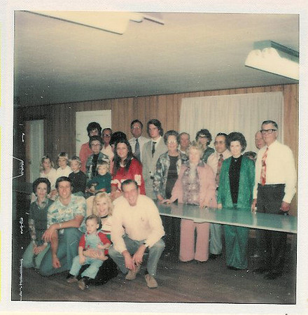 reunion77e<br /> Family gathering at Phil's Archery Shop in Austin in 1977.  Tell us in comments who you recognze.