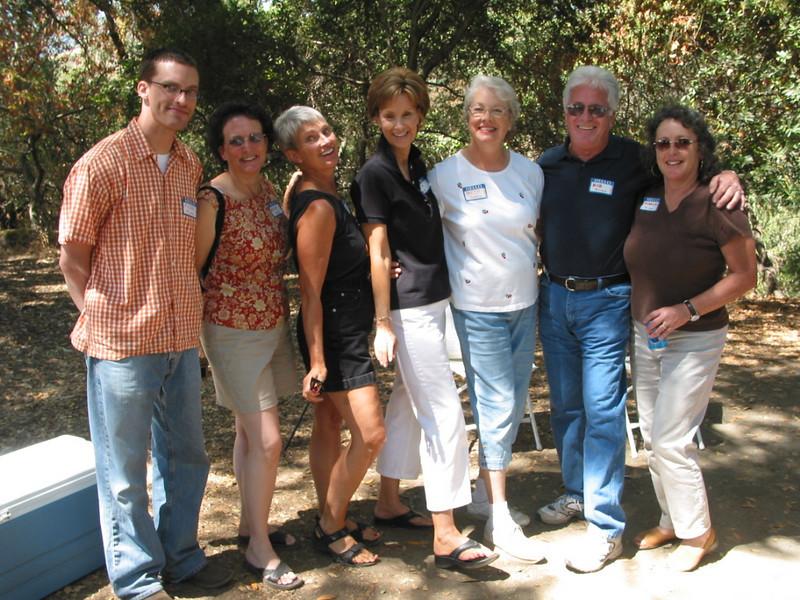 Michael, Betsey, Milly, Bettey, Beth, Bob, Merrilyn