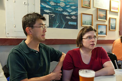 We quickly decided on Gilbert's Chowder House which luckily could seat us immediately.