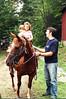 Darrin & Horse, w/ Leslie & Sydney?