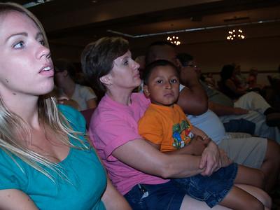First night attentiveness (Chara, Lydia Aranda, Diego)