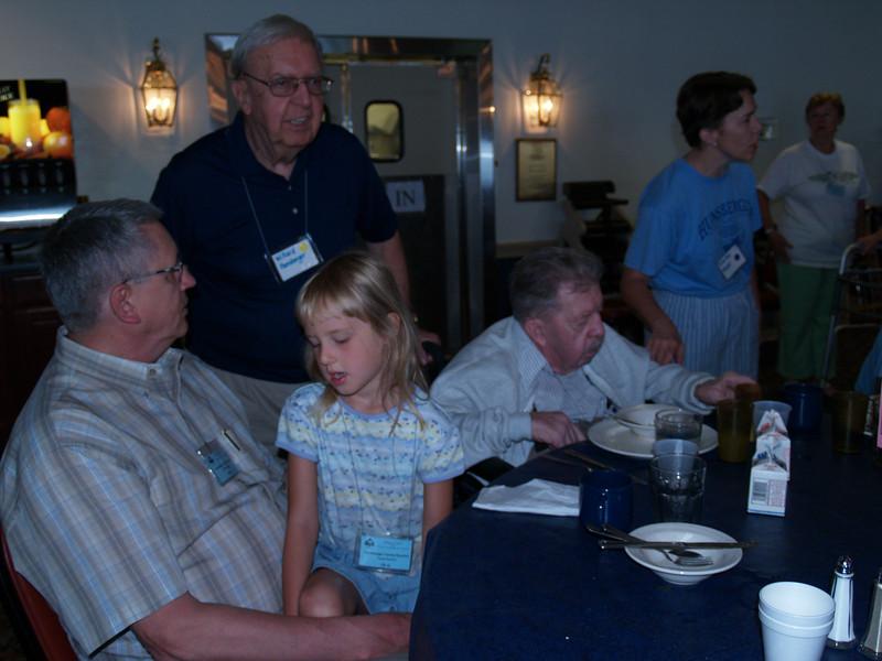 Dining Hall (Jim, Willard, Natasha, Earl, Ruth Ann, Trudy F. )