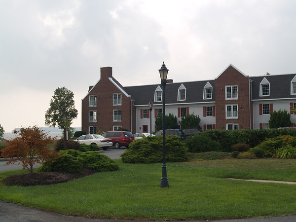 The main lodge- closer