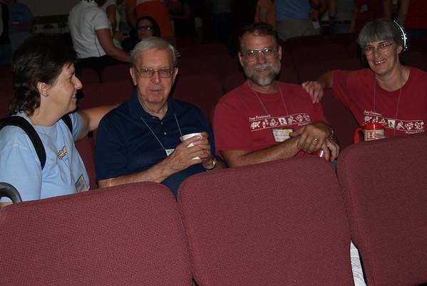 Auditorium-- (Patrice, Willard, Terry & Lois)