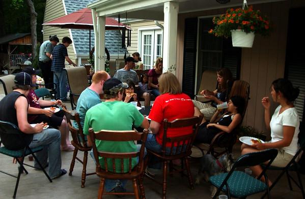 Cousins on Dan & Mariela's deck