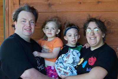 John, Elani, Jasper, and Laryssa