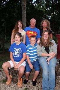 Robert Kane family   Back row L to R: Katie, Robert, Tammy   Front row L to R: Jodi, Royal, Jessie   2005 Kane Family Reunion