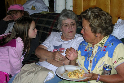 2007 Kane Family Reunion at Pine River Lodge on Vallecito Lake, which is located 23 miles northeast of Durango, Colorado.
