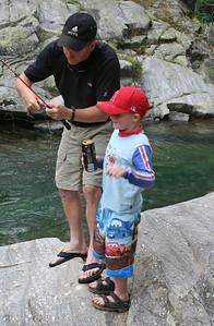 Pat & Christopher Kane at Vallecito Creek, Colorado 7/16/07
