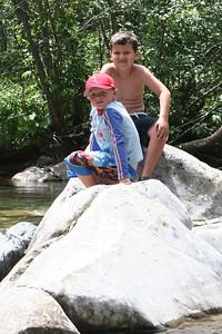 Chris Kane & Donald Cano at Vallecito Creek, Colorado 7/16/07