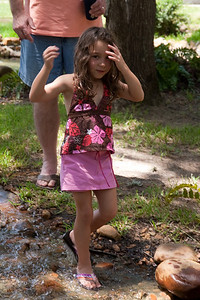 Summer Kane - another alligator hunter? with Shorty Giacomazzi standing by. 2010 Kane / Kennemer Family Reunion in Canton, Texas (Image taken by Patrick R. Kane on 21 Jul 2010 with Canon EOS 20D at ISO 100, f5.6, 1/100 sec and 62mm)