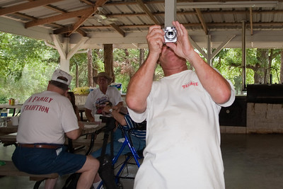 Russ Kane taking a picture of Patrick Kane taking a picture of him. 2010 Kane / Kennemer Family Reunion in Canton, Texas (Image taken by Patrick R. Kane on 21 Jul 2010 with Canon EOS 20D at ISO 100, f4.0, 1/60 sec and 17mm)
