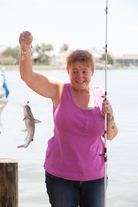 This was the first fish Kathy caught on the trip. 2012 Kane / Kennemer Family Reunion in Rockport, Texas (Image taken by Patrick R. Kane on 14 Jul 2012 with Canon EOS 5D at ISO 200, f6.3, 1/320 sec and 88mm)
