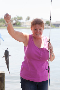 This was the first fish Kathy caught on the trip. 2012 Kane / Kennemer Family Reunion in Rockport, Texas (Image taken by Patrick R. Kane on 14 Jul 2012 with Canon EOS 5D at ISO 200, f5.6, 1/250 sec and 85mm)
