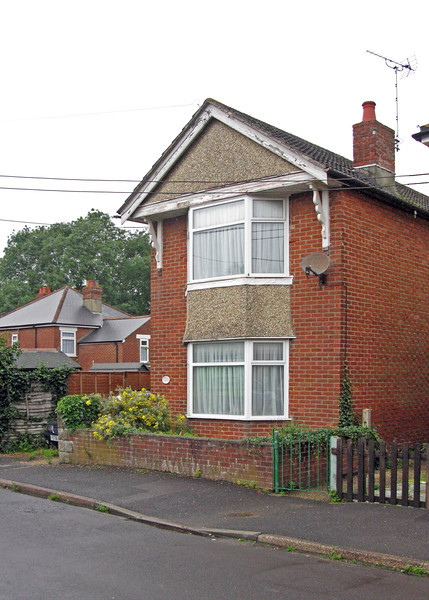 1 Brokenford Ave., Totton. Our family home.