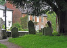 The graveyard was a playground for us choristers between weddings and before choir practise.