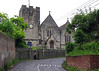My brother Andrew and I sang in the Choir in this church from the late 1950s to the early 1960s. The church was originally built in Saxon times. Its registers go back to 1537 and has a wealth of history.  It is a favourite haunt for historians. Its main fame though is a painting of 'The Last Supper' which hangs over the altar.  This was painted by the Venetian, Marziale, who may have known Michelangelo, and perhpas copied his famous painting which hangs in the Sistine Chapel in Rome.