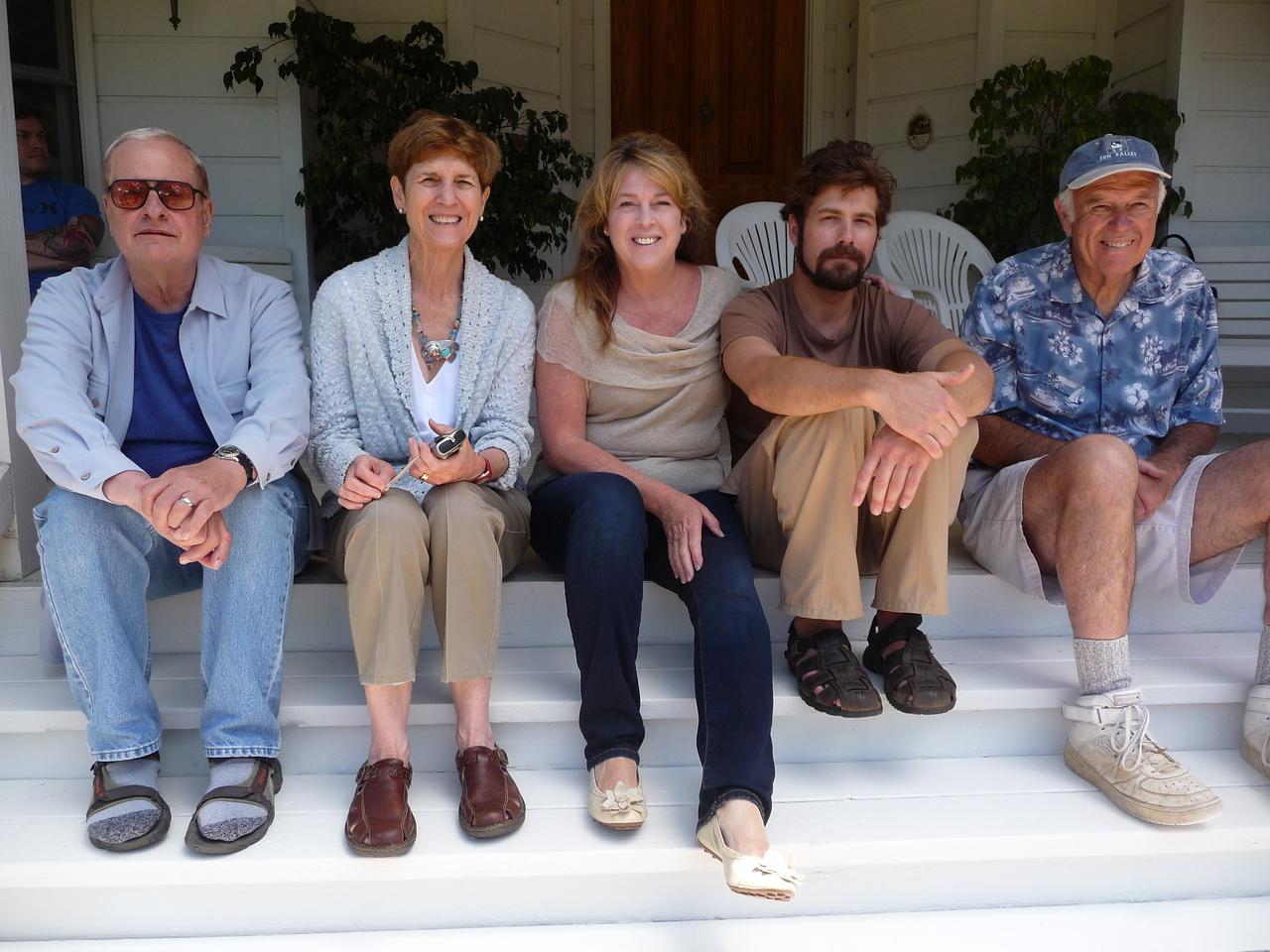 Dick & Patsy Kiechler, Mare & Chris Williams, Mike O'Gara