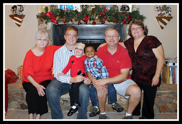 Rhyne Family Dec 2012