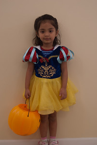 This year Ria dressed up as Snow White
