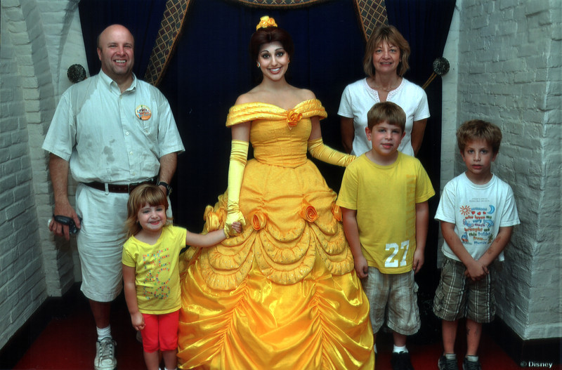 The Stanziale's at Disney World - October 2011