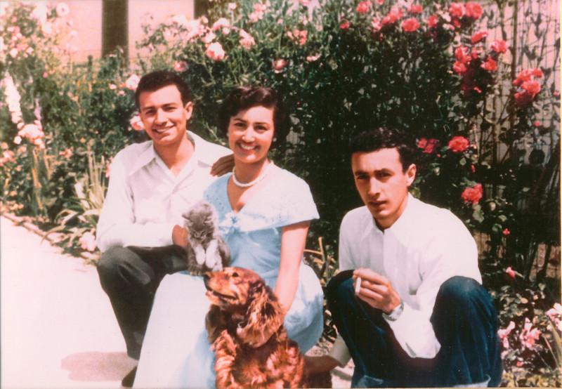 3 kids 1950