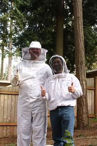 Bee boys Richard and Jordan
