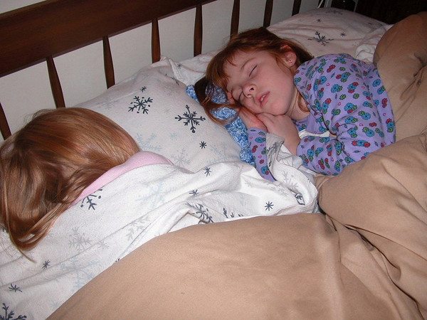 TWO SISTERS IN SLUMBER LAND