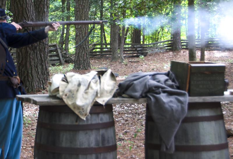 The Breakthrough Trail    Musket Firing