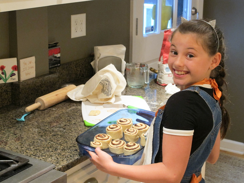 Baking Cinammon Rolls
