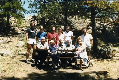 Group Shot at Cabin (May 1984)