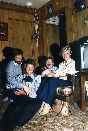 Dave, Ruth, Jim, Marion (Estes Park, CO (May 1984))