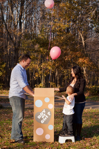 Rico and Roe's gender reveal